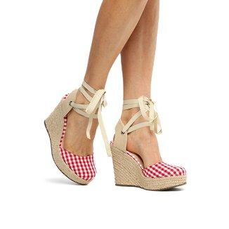 Espadrille Shoestock Plataforma Feminina