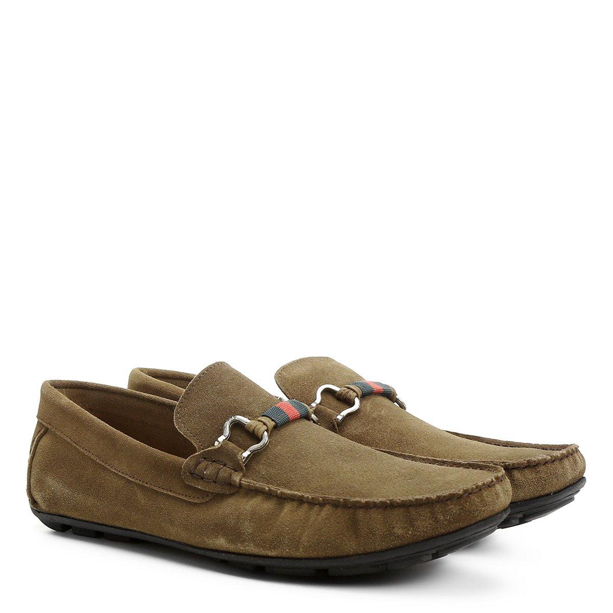 96cef7f610 Mocassim Couro Shoestock Gorgurão Masculino - Compre Agora