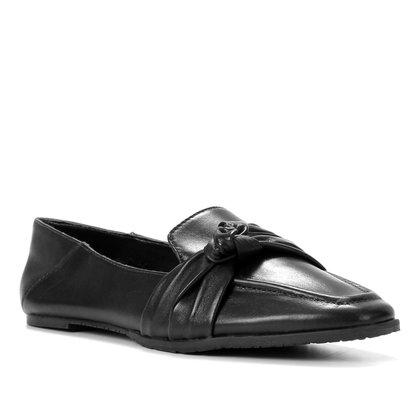 Mocassim Couro Shoestock Loafer For You Feminino