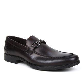 Mocassim Couro Shoestock Vecchio Bridão Masculino