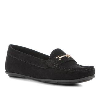 Mocassim Shoestock Bridão Nobuck Feminino