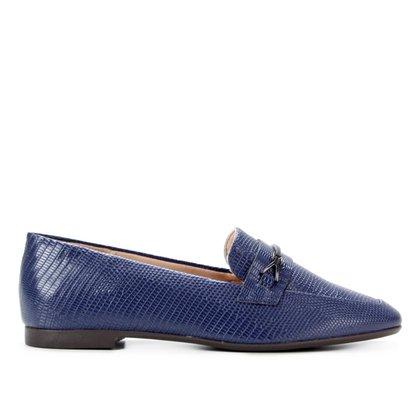 Mocassim Shoestock Loafer Lizard Feminino