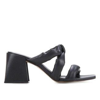 Mule Shoestock Comfy Salto Bloco