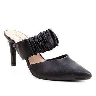 Mule Shoestock Salto Alto Soft