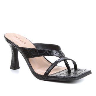 Mule Shoestock Salto Sino Croco