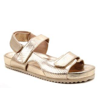 Papete Couro Shoestock Feminina