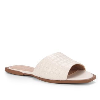 Rasteira Couro Shoestock Slide Matelasssê