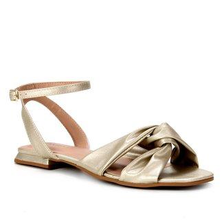 Rasteira Shoestock Comfy Tiras Cruzadas