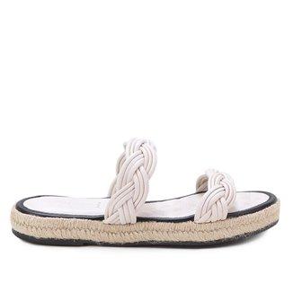 Rasteira Shoestock Corda Handmade