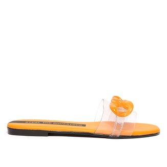 Rasteira Shoestock Corrente Vinil Color