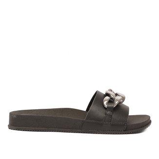 Rasteira Shoestock For You Slide Corrente Feminina