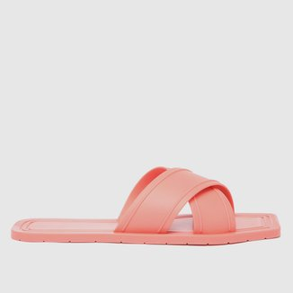 Rasteira Shoestock For You Tiras Cruzadas
