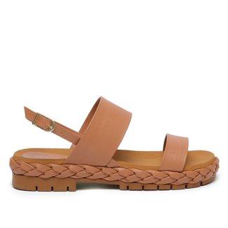 Rasteira Shoestock For You Trança Feminina