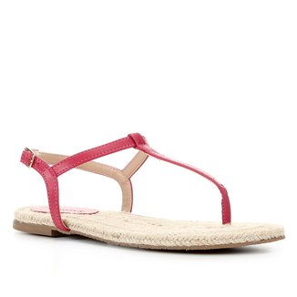 Rasteira Shoestock Palmilha Corda