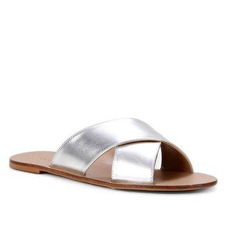 Rasteira Shoestock Slide Tiras