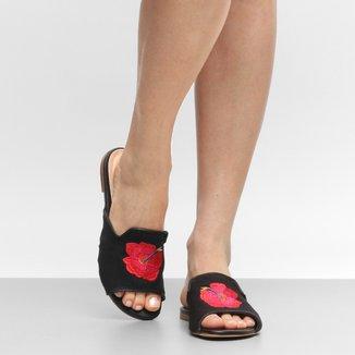 Rasteira Shoestock Slide Tropical