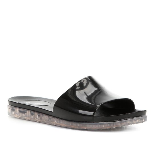 Rasteira Shoestock Slide - Preto