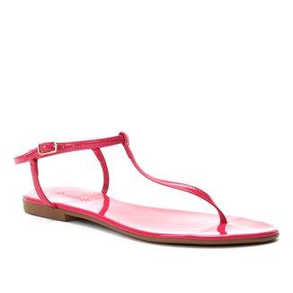 Rasteira Shoestock Tira Neon