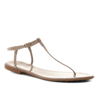 Rasteira Shoestock Tira Verniz