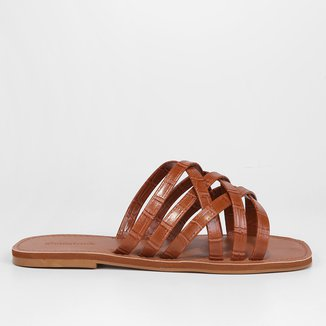 Rasteira Shoestock Tiras Cruzadas