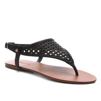 Rasteira Shoestock Vazada