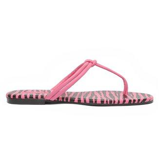 Rasteira Shoestock Zebra Color