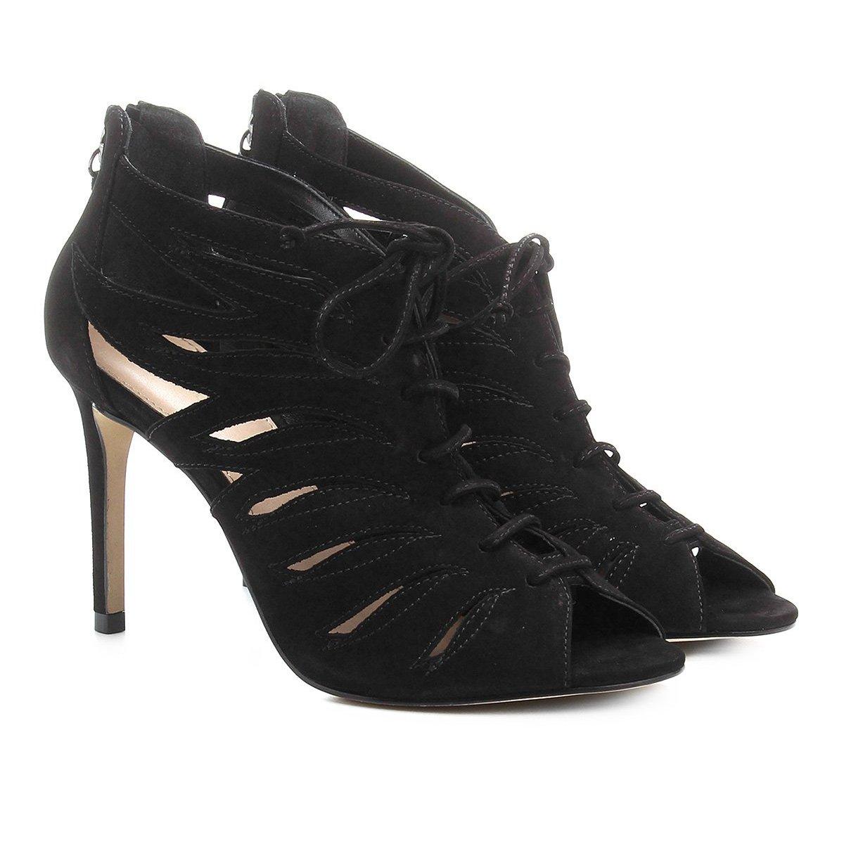 ea87706bf Sandália Couro Shoestock Salto Fino Feminina | Shoestock