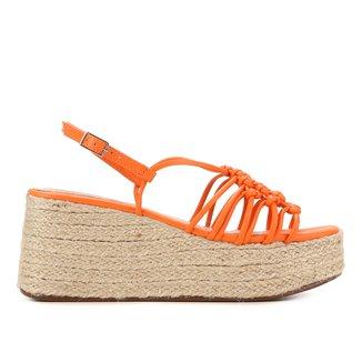Sandália Plataforma Shoestock Corda Handmade Feminina