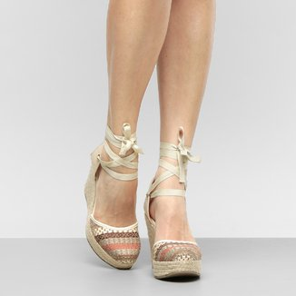 Sandália Plataforma Shoestock Espadrille Feminina