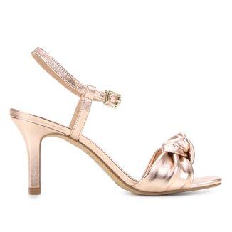 Sandália Shoestock Comfy Salto Médio Feminina