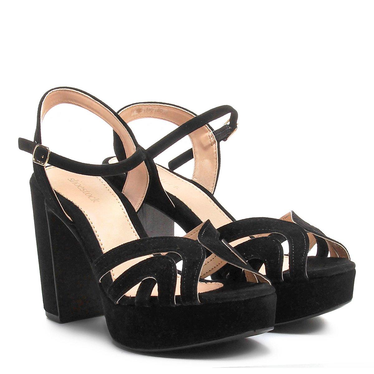 c4d07315d Sandália Shoestock Meia Pata Tirinhas - Compre Agora | Shoestock