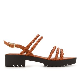 Sandália Shoestock Tratorada Handmade Feminina