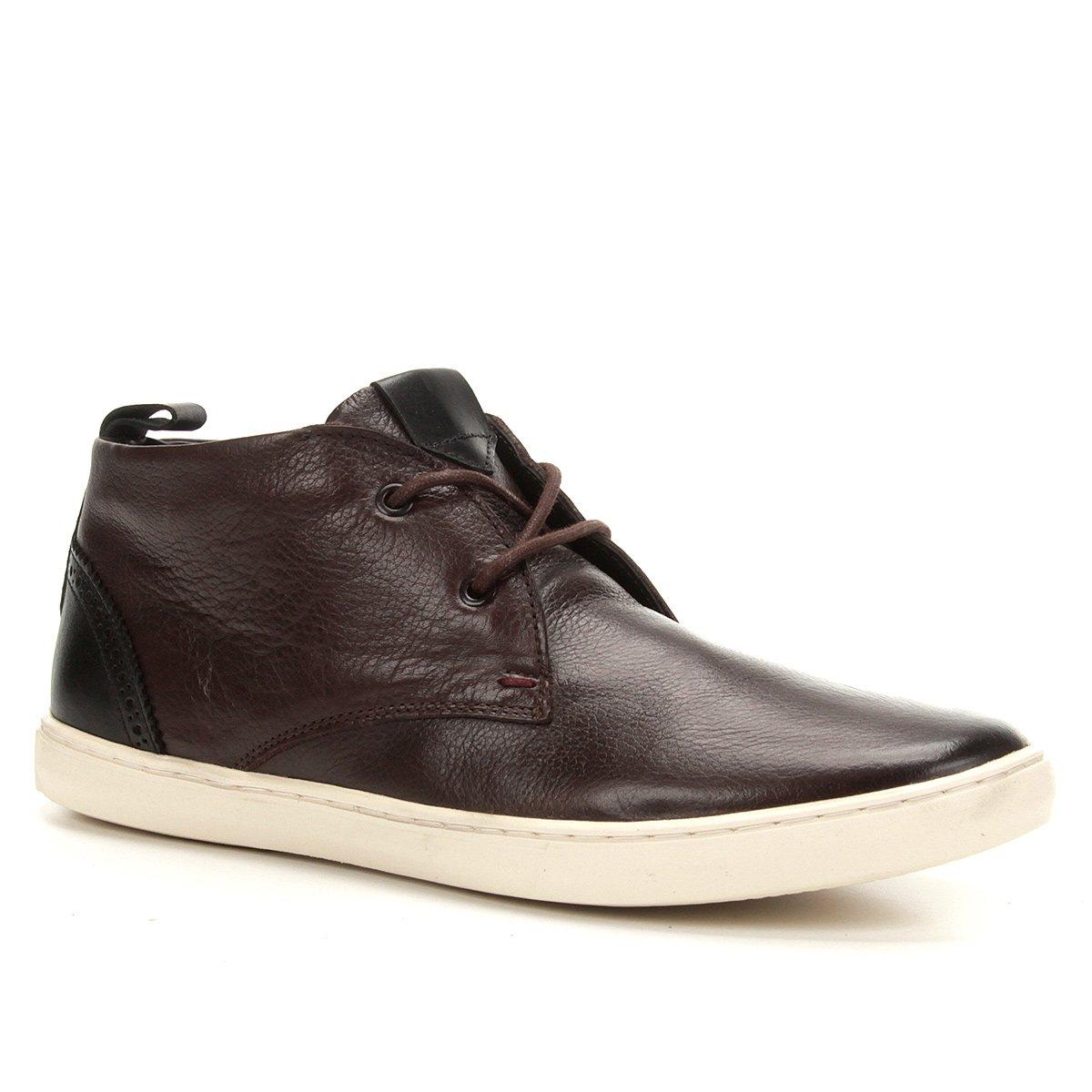 6f919f0ffd7 Sapatênis Couro Shoestock Cano Curto Masculino - Compre Agora ...
