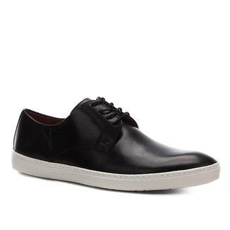 Sapatênis Couro Shoestock Casual Masculino