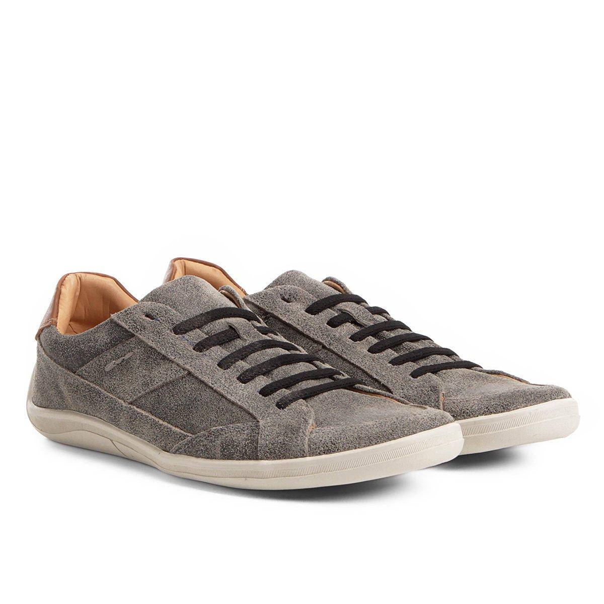 687feb1bf Sapatênis Couro Shoestock Lixado Masculino   Shoestock