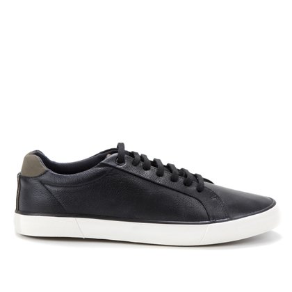 Sapatênis Couro Shoestock Napa Masculino