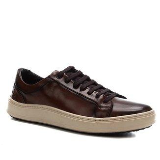 Sapatênis Couro Shoestock Napa Vick Basic Masculino