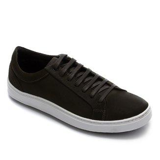 Sapatênis Couro Shoestock Nobuck Basic Masculino