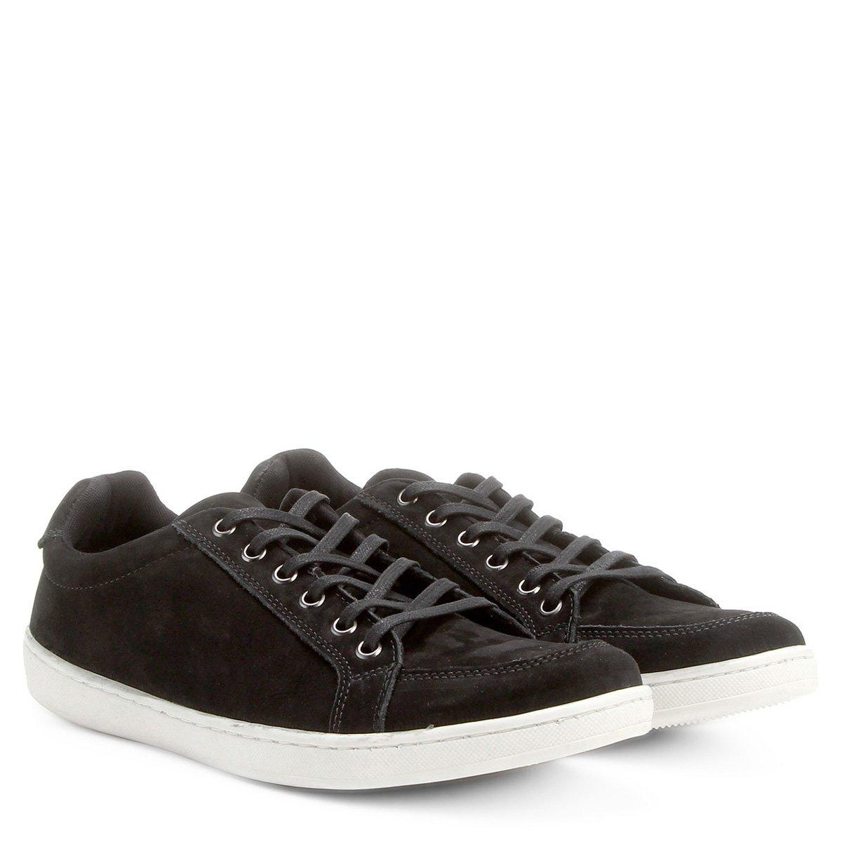 bf3b702d4dc Sapatênis Couro Shoestock Nobuck Masculino - Compre Agora