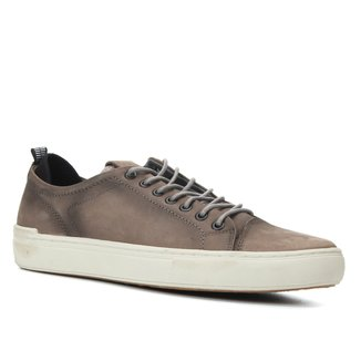 Sapatênis Couro Shoestock Stoned Masculino