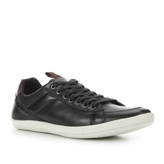 Sapatênis Couro Shoestock Street Basic Masculino