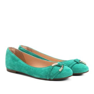 Sapatilha Couro Shoestock Elo Feminina