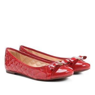 Sapatilha Couro Shoestock Matelassê Feminina