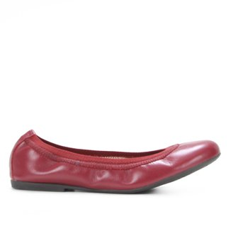 Sapatilha Couro Shoestock Neide Elástico Feminina