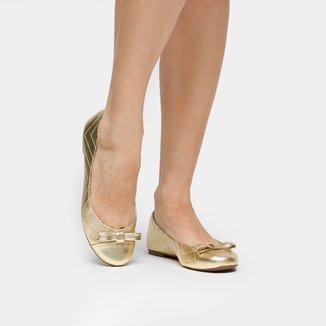 Sapatilha Couro Shoestock New Matelassê Feminina