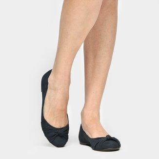 Sapatilha Couro Shoestock Nó Feminina