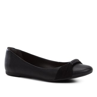 Sapatilha Couro Shoestock Tira Feminina