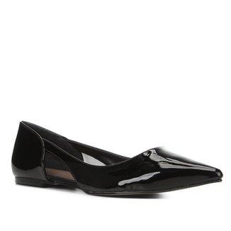 Sapatilha Shoestock Bico Fino Tela Feminina