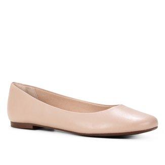 Sapatilha Shoestock Bico Redondo Lisa Feminina