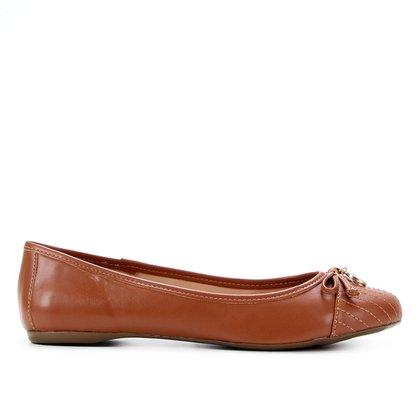Sapatilha Shoestock Bico Redondo Medalha Feminina